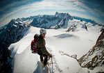 first Steps into alpine climbing