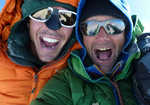 Andy Houseman and Nick Bullock on the Summit, 5 kb