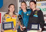 2012 WC Overall Lead winners - Jain Kim, Mina Markovic, Johanna Ernst, 6 kb