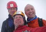 Pictured from the left: Paul Figg, Simon Yearsley and Malcolm Bass, 3 kb