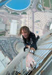 Alain Robert at Beacon Climbing Centre 9th March #1, 4 kb