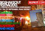 Alpkit Big Shakeout + Rockfax Peak Bouldering, 6 kb