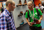 UKC gear reviewer Charlie Boscoe looks at the Scarpa Rebel Ultra with Steve Roberts, 5 kb