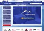 New Climbers Shop web site, 4 kb