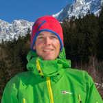 Ross Hewitt, now on the Berghaus Team, 5 kb
