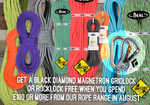 Free Black Diamond Magnetron Karabiner with ropes over £100, 6 kb