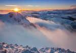 Sunset from Stob Coire nan Lochan