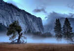 Royal Arches & Morning Mist, Yosemite Valley