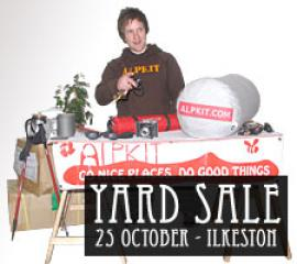 Alpkit Yard Sale, Lectures, market research, commercial notices Premier Post, 1 weeks at £25pw