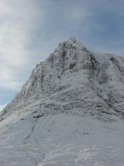 A snowy Buachaille