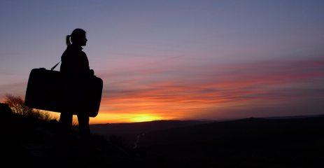 Post-Bouldering Sunset