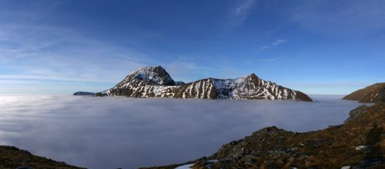 The Ben above a temperature inversion