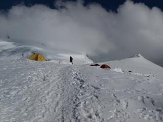 The Gouter Route, looking at what is to come (Day 2)