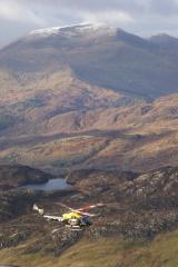 Above the chopper