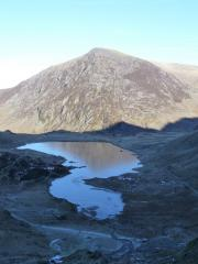 view from idwal stream