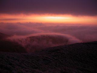 Dawn at Torpantau