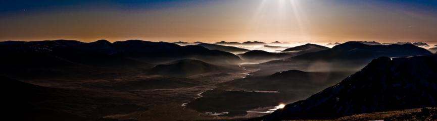 Glen Spean Panorama
