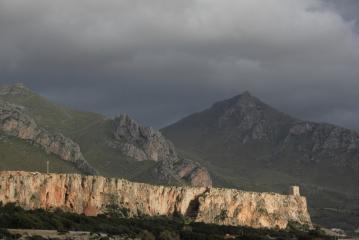 Sectors Campeggio, Scomparto dei rifiuta and Torre Isulidda at San Vito lo Capo