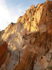 Joseph Gstoettenmayr on Just For Fun. 4c. Sector Campeggio. San Vito lo Capo