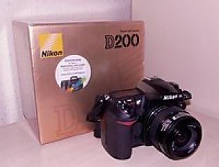Premier Post: Nikon D200 Mint condition+Nikkor Lens+4GB Card