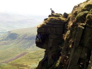 Cave arete, Laddow Rocks