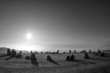 Castlerigg Stone Circle, The Dodds and Helvellyn