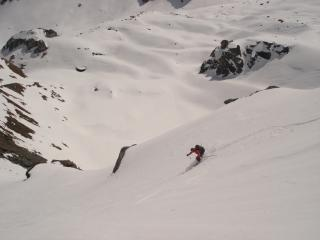 Fresh lines on the Haute Route