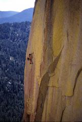 Spontaneous Combustion (5.12d), The Needles, California