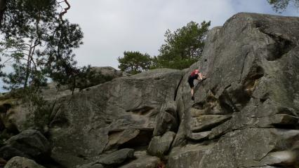 Highball 4 on a blue circuit at L'Elephant