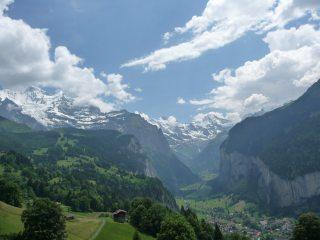 Lauterbrunnen and the Jungfrau