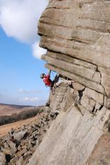 the same cliché shots... part 2 - Flying Buttress Direct, HVS!!