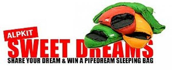 WIN: An Alpkit PipeDream Sleeping bag, Products, gear, insurance Premier Post, 2 weeks at £70pw