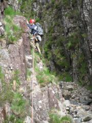 Billy on first pitch of chasm