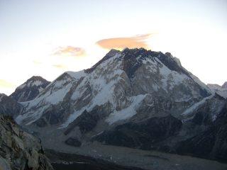 Sunrise over Everest, taken from Lobuche