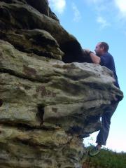 Third Pinnacle bridstones North Yorks