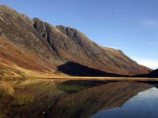 A glorious October morning in Glen Coe