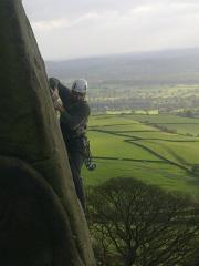 The traverse on Hawkwing. E15b