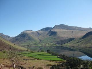 Scafell above Wastwater