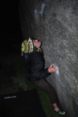 Night Climbing at Burbage South
