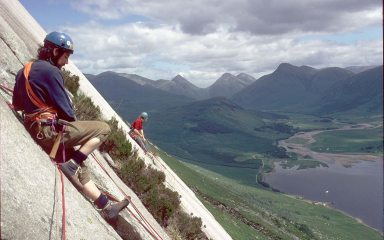 Why do you need an Ice Hammer on Etive? For the midges...