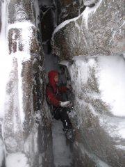 Deep Cut Chimney, Hell's Lum