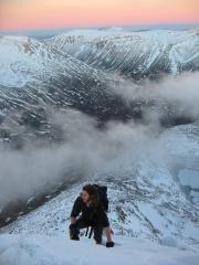 Top of Angel's Ridge, Angel's Peak (Sgur an Lochain Uaine)