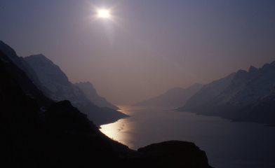 Ersfjorden, Kvaloya, Norway