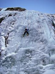 The first pitch of The Cascade