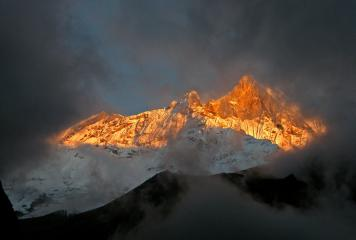 Sunset on Fishtail