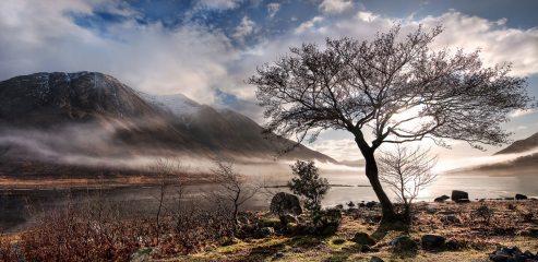Loch Etive and Ben Starav