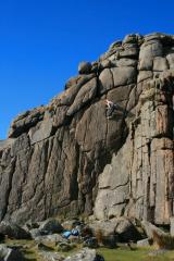Al Soloing at sheeps tor.