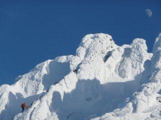 Fingers Ridge, Coire an t'Sneachda