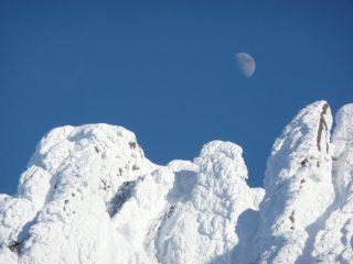 The Moon on Fingers Ridge