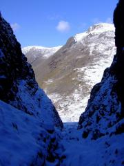 Great Gable from Skew Ghyll